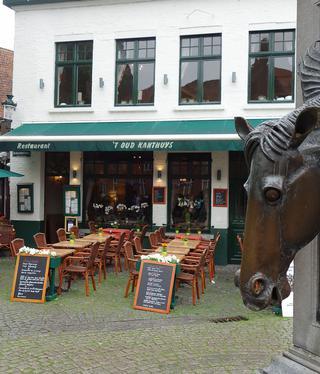 Restaurant 't Oud Kanthuys aan de rustplaats van de koetsen