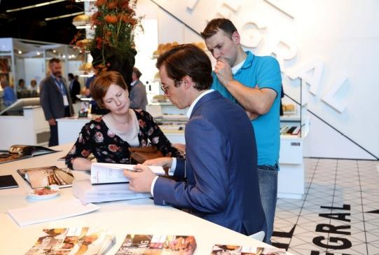 Broodway is de driejaarlijkse vakbeurs in Kortrijk Xpo voor bakkers, patissiers, chocolatiers en ijsbereiders