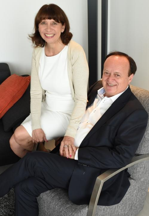 Zaakvoerders Alain Smets en Lydia Rosillong