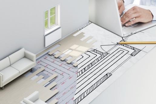 Radson, vloerverwarming, calculatie, verwarming, zoneregeling