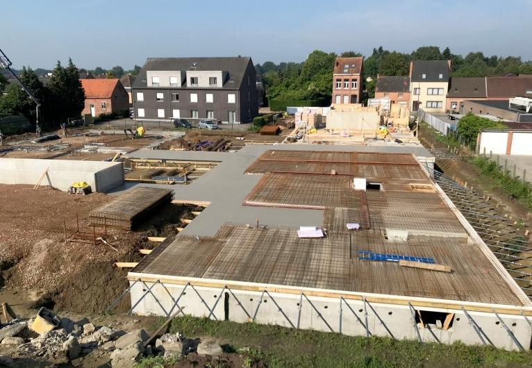 La résidence Nachtegaalpark à Oevel, un projet de nouvelle construction avec 17 appartements et 4 habitations, répondra aux normes PNE