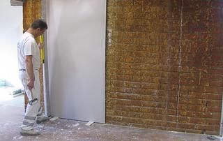 Isoler les murs extérieurs par l'intérieur