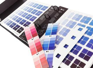 Toutes les nuances de couleur sont classées dans un manuel synoptique