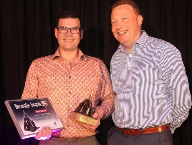 Slosse wint Decoratie Award dankzij Moduleo by IVC bij Hotel Portinari (Brugge)