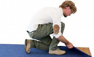 Met de verwijderbare lijmen is het mogelijk om na verloop van tijd de vloerbekleding ongeschonden van de ondervloer te verwijderen