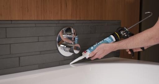 Siliconen in de badkamer of keuken - Artikel - Dobbit