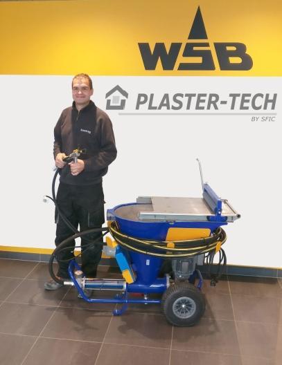 WSB gaat partnerschap aan met Plaster-Tech