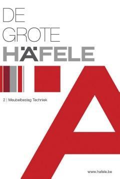 De gloednieuwe catalogus van Häfele Belgium