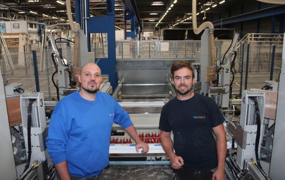 David en Dimitri Hemelings zorgen ervoor dat Hemmar als familiebedrijf altijd een voorloper blijft op het vlak van investeringen in nieuwe machines en procedés