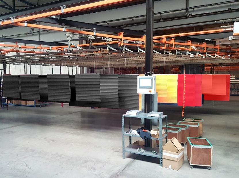 BUILDING Shutter Systems est le seul dotant les tabliers de volet roulant d'un revêtement en poudre dans tout coloris RAL