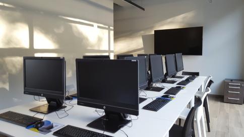 Het nieuwe gebouw bevat ook een eigen opleidingscentrum